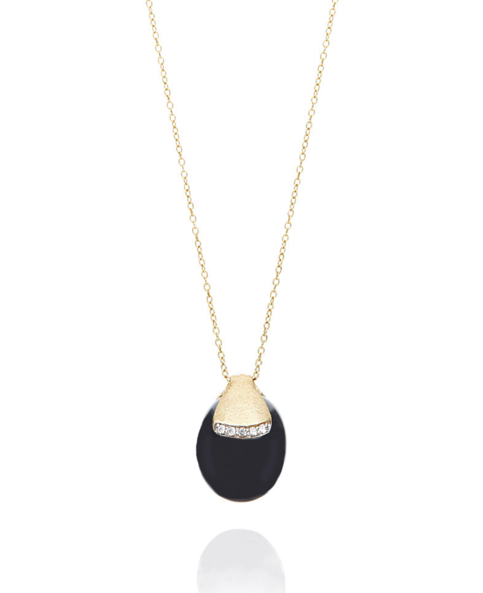 Nanis Dancing Mystery Black Necklace